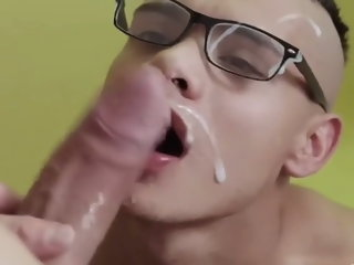20 guys get CUM IN MOUTH (Compilation)