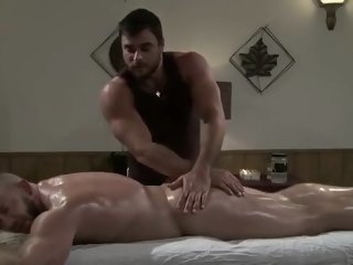 Gay Massage , Oil Handjob
