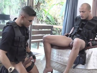 SWAT Horny Cops - Richard & Kadu