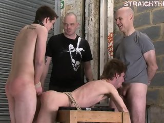 Taming Two Str8s gay fetish