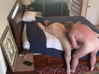 Daddy Gets Fucked Pt 1 chubby