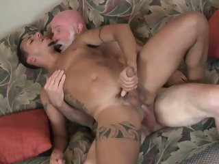 Hot Latino And His Daddy