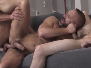 Dick caber dad and son fuck