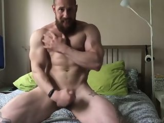 Russian Bodybuilder Horny