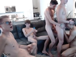 [merely Fans] Aiden Garcia, Alex Riley, Harley Xavier, Jacob Acosta, & Seth Peterson Part 1